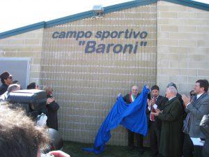 inagurazione campo baroni 22 03 09 ospite luca toni 058